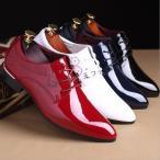 メンズエナメル靴 エナメル 靴 メンズ 革靴 リーガル