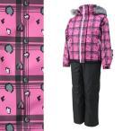 SPALDING(スポルディング) SPG-4541 子供用 ジュニア ガールズ スキーウェア 上下セット☆PNK