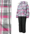 PERSONS(パーソンズ) PSG-4531 子供用 保温機能付き ジュニア ガールズ スキーウェア 上下セット☆WHT