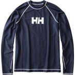 メール便OKHELLYHANSEN(ヘリーハンセン)HE81716ユニセックスロングスリーブラッシュガード長袖アクアシャツHB
