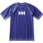 メール便OKHELLYHANSEN(ヘリーハンセン)HE81718ユニセックスショートスリーブラッシュガード半袖アクアシャツBB