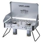 (送料無料)UNIFLAME(ユニフレーム)キャンプ用品 ガスバーナー ツインバーナー US-1900 610305