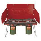(セール)(送料無料)COLEMAN(コールマン)キャンプ用品 ガスバーナー パワーハウスLPツーバーナーストーブII 2000021950