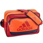 (セール)adidas(アディダス)スポーツアクセサリー エナメルバッグ ラバーエナメル L BIP27 AP3459 NS パワーレッド/ボールドオレンジ