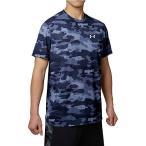 (送料無料)UNDER ARMOUR(アンダーアーマー)野球 半袖Tシャツ UA TECH SS CAMO 1295459 メンズ MIDNIGHT NAVY