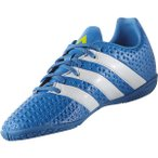 adidas(アディダス)サッカー ジュニアフットサル インドア エース 16.4 IN J Z KCU09-AF5045 ボーイズ ショックブルーS16/ランニングホワイト/セミソー...