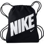 (セール)NIKE(ナイキ)スポーツアクセサリー ナップサック ナイキ YA グラフィック ジムサック BA5262-015 ジュニア MISC ブラック/ブラック/(ホワイト)
