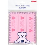 WILSON ウィルソン PRO OVERGRIP BEAR PK 3PK WRZ4020BP ラケットスポーツ グリップテープ PNK