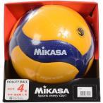 MIKASA ミカサ バレー4号 検定球 黄/青 V400W バレーボール 4号ボール 4 セール