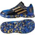 (セール)adidas(アディダス)シューズ ジュニア キッズ ADIFAITO EL K B24095 ジュニア コアブラック/ゴールドメット/ミッドナイトインディゴ F15