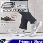 スケッチャーズ SKECHERS レディース GO Walk 4  14178-BKW/GRY シューズ  スニーカー SALE