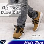 送料無料 アディダス ADIDAS CLOUDFOAM RACE WTR LEA AW5270 【2016年秋冬 新作】 スニーカー SALE 8000円以上送料無料