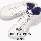 ケースイス K-SWISS スニーカー メンズ カジュアル シューズ 靴 ファッション スポーツ ストリート KSL 02 PLUS 36100300 36100301 白