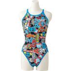 アリーナ ARENA 水泳水着 レディース スーパーフライバック タフスーツ FSA7613W-BLU