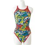 アリーナ ARENA 水泳水着 レディース スーパーフライバック タフスーツ FSA7615W-BURD