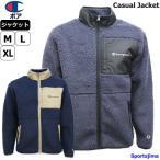 チャンピオン ジャケット メンズ カジュアル ボア フリースジャケット C3Q615 2カラー あったか アウター 上着 男女兼用 人気