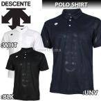 デサント ポロシャツ 半袖 メンズ トレーニングウェア DTM4601B 3カラー 吸汗速乾 ベーシ...