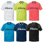 ショッピングフットサル NEWモデル 半袖カラープラクティスシャツ ATHLETA-アスレタ フットサルウェア/サッカーウェア