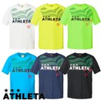 先行予約商品 ジュニア 半袖カラープラクティスシャツ ATHLETA-アスレタ フットサルウェア/サッカーウェア
