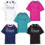 夏物セール 半袖ロゴパイピングプラシャツ/プラクティスシャツ svolme-スボルメ フットサルウェア/サッカーウェア SALE/セール