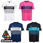 冬物セール 半袖ロゴプラTシャツ svolme-スボルメ フットサルウェア/サッカーウェア SALE/セール