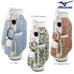 MIZUNO-ミズノ レディース/女性用 14W1 ライト クリエイティブライン キャディバッグ ネーム文字彫り無料 キャディーバッグ/ゴルフバッグ
