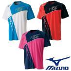 MIZUNO-ミズノ ユニセックス/男女兼用 Tシャツ/プラクティスTシャツ バドミントンウェア/テニス・ソフトテニスウェア