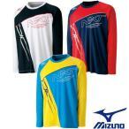 MIZUNO-ミズノ ユニセックス/男女兼用 長袖Tシャツ/プラクティスTシャツ バドミントンウェア/テニス・ソフトテニスウェア