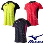 全日本モデル ユニセックス 半袖ゲームシャツ/ユニホーム MIZUNO-ミズノ 卓球ウェア/卓球ユニフォーム SALE/セール