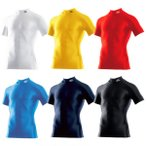 MIZUNO-ミズノ BIO GEAR-バイオギア 半袖ハイネックシャツ スポーツウェア/インナーシャツ