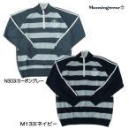 Munsingwear-マンシングウェア メンズ ジップ付き 長袖セーター/ニットセーター/ルーズネックセーター ゴルフウェア/ゴルフウエア