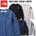 2019 秋・冬New !  ザ・ノース・フェイス   スクエア ロゴ クルー(メンズ)NT61931   THE NORTH FACE Square Logo Crew