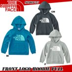 THE NORTH FACE ザ・ノースフェイス Front Logo Hoodie Pull(K's)  ロントロゴフーディー プル(キッズ)NTJ61727