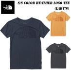 ザ・ノースフェイス ショートスリーブカラーヘザーロゴティー(レディース)2021春夏 NTW32151 THE NORTH FACE S/S Color Heather Logo Tee Lady's