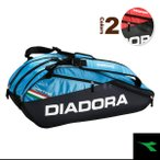 ショッピングディアドラ ディアドラ テニスバッグ ラケットバッグ6/ラケット6本収納可(DTB7633)