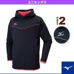 [ミズノ バレーボールウェア(メンズ/ユニ)]ストレッチフリースシャツ/長袖/ユニセックス(V2ME6511)
