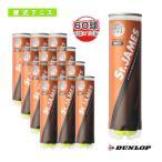 雅虎商城 - 【ポイント10倍】[ダンロップ テニスボール]St.JAMES(セントジェームス)『4球×15缶』テニスボール(STJAMESE4CS60)