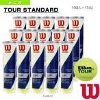 雅虎商城 - ウィルソン テニスボール TOUR STANDARD/ツアースタンダード『4球入×15缶』(WRT103800)