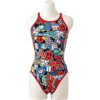 アリーナ ARENA 水泳水着 レディース スーパーフライバック タフスーツ FSA7613W-RED