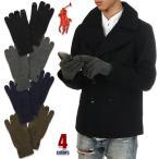 【スマホ対応】 ラルフローレン 手袋    メンズ POLO RALPH LAUREN スマホ対応 タッチグローブ 手袋 防寒グッズ 定番