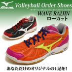 ショッピングオーダーシューズ mizuno ミズノ バレーボールシューズ・オーダーシューズ・WAVE RAIJIN TYPE LO