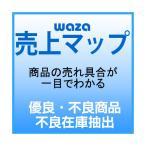 ショッピング商品 販売状況を見える化する waza 売上マップ