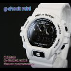 g-shock mini Gショック ミニ GMN-691-7AJF white black