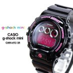 g-shock mini ミニ GMN-692-1JR black pink