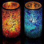 ショッピングキャンドル BitDesign アンティーク LED キャンドル ライト (Mサイズ 高さ:15cm) イルミネーション 電飾 クリスマス