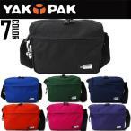 YAKPAKミニショルダーバッグ メッセンジャーバッグYP0502ブランドバッグ ヤックパック メンズバッグ レディースバッグ ユニセックス