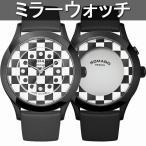 正規品 ROMAGO DESIGN腕時計 ロマゴデザイン RM052-0314ST-BKWH ファッションコード Fashioncode 成田凌着用シリーズ メンズ腕時計 送料無料