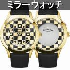 正規品 ROMAGO DESIGN腕時計 ロマゴデザイン RM052-0314ST-GDBK ファッションコード Fashioncode 成田凌着用モデル メンズ腕時計 送料無料
