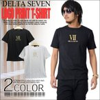 半袖Tシャツ メンズ 箔プリント半袖Tシャツ メンズ 黒 ブラック シルバー ゴールド クルーネック カットソー