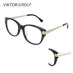ビクター&ロルフ 眼鏡フレーム 70-0078 53サイズ バタフライ ブラウン イエロー VIKTOR&ROLF メガネフレーム